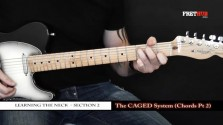 The Caged System - Chords pt 2 - a FretHub online guitar lesson, with Bobby Harrison