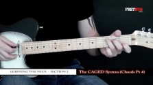 The Caged System - Chords pt 4 - a FretHub online guitar lesson, with Bobby Harrison