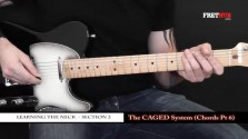 The Caged System - Chords pt 6 - a FretHub online guitar lesson, with Bobby Harrison