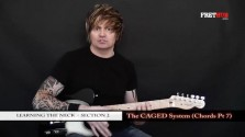 The Caged System - Chords pt 7 - a FretHub online guitar lesson, with Bobby Harrison