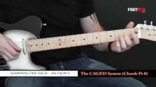 The Caged System - Chords pt 8 - a FretHub online guitar lesson, with Bobby Harrison