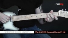 The Caged System - Chords pt 10 - a FretHub online guitar lesson, with Bobby Harrison