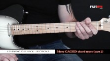More Caged Chord Types - Part 2 - a FretHub online guitar lesson, with Bobby Harrison