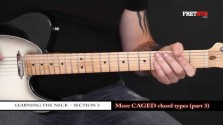 More Caged Chord Types - Part 3 - a FretHub online guitar lesson, with Bobby Harrison