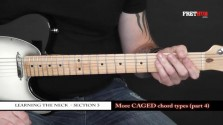 More Caged Chord Types - Part 4 - a FretHub online guitar lesson, with Bobby Harrison