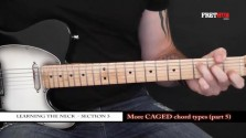 More Caged Chord Types - Part 5 - a FretHub online guitar lesson, with Bobby Harrison