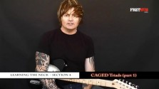 Caged Triads - Part 1 - a FretHub online guitar lesson, with Bobby Harrison
