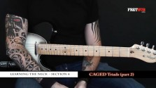 Caged Triads - Part 2 - a FretHub online guitar lesson, with Bobby Harrison