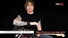 Minor Pentatonic Scale Shapes - Part 1 - a FretHub online guitar lesson, with Bobby Harrison