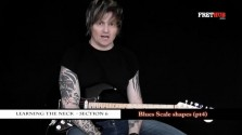 Blues Scale Shapes - Part 4 - a FretHub online guitar lesson, with Bobby Harrison