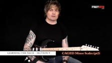 Caged Minor Scales - Part 2 - a FretHub online guitar lesson, with Bobby Harrison