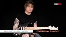 Caged Minor Scales - Part 3 - a FretHub online guitar lesson, with Bobby Harrison