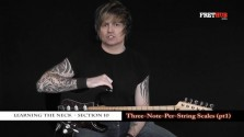 Three Note Per String Scales - Part 1 - a FretHub online guitar lesson, with Bobby Harrison