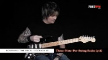 Three Note Per String Scales - Part 2 - a FretHub online guitar lesson, with Bobby Harrison