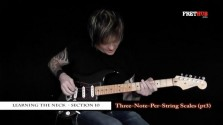 Three Note Per String Scales - Part 3 - a FretHub online guitar lesson, with Bobby Harrison